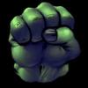 903fdb comics hulk fist icon