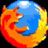58ecd5 firefox icon pixel style by grifuz d47574u
