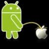 1e1614 android pee on apple