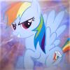 6e19e3 rainbow dash avatar by delta105 d4gn8ey