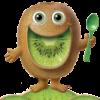 7f9e37 lg kiwi man spoon