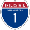8fa0e2 1957 style interstate 1 shield