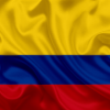1550e9 thumb2 colombian flag colombia south america silk flag of colombia