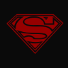 F68fae black superman logo by brian webbster