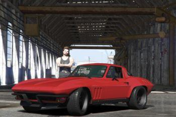 D2be62 3   1966 chevrolet corvette stingray by gta5korn