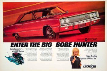 252c6a 1967 dodge coronet rt ad