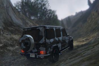 2c57f1 mercedes benz g65 amg 2013 smokey   north rhine camouflage3