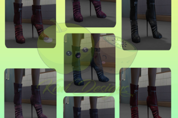 Dba7f7 ankle boots all textures gta5mods