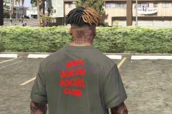 anti social social club t shirt pack gta5 mods.com