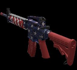 54b3d8 patriotic ar15