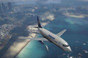 5da934 gta v   ryanair 737 200 over ls