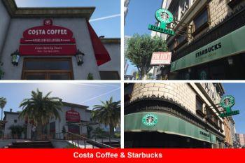 926aec costa coffee & starbucks