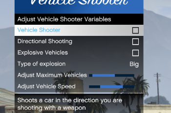 1c9183 vehicleshooter menu screenshot