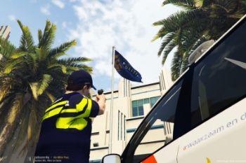 Dccfed flag police 2