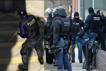 E025f1 politie arrestatieteam49