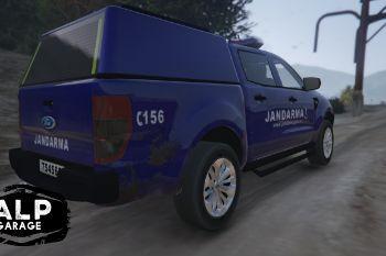 ford ranger jandarma pickup 4k gta5. Black Bedroom Furniture Sets. Home Design Ideas