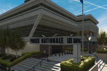 E54693 police mission row panneau