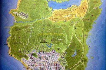 545f54 gtav map