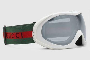 0216bb 266709 j1691 9004 002 100 0000 light gafas de esqu con logotipo de gucci y detalle de tribanda