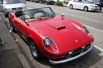 93c435 ferrari 250 gt california spyder red