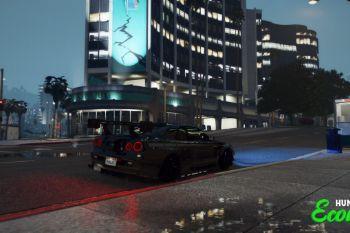 B57611 rainyevening
