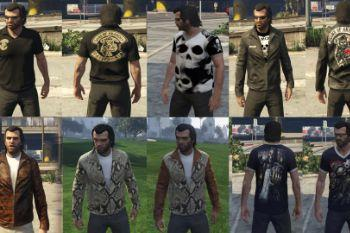 New T-Shirt + Clothing Pack For Trevor - GTA5-Mods.com