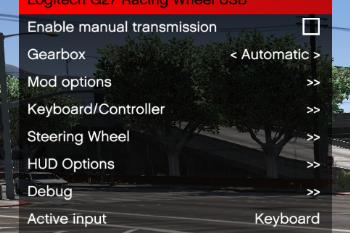 Manual Transmission & Steering Wheel Support - GTA5-Mods com