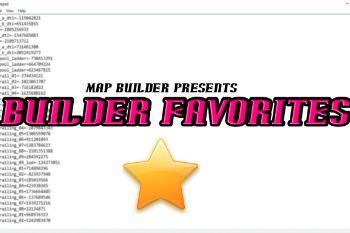 Ebadcf builder favorites