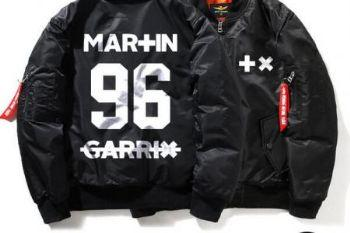 B6b418 dj martin garrix bomber jacket zipper quilted plus size clothing for men175220