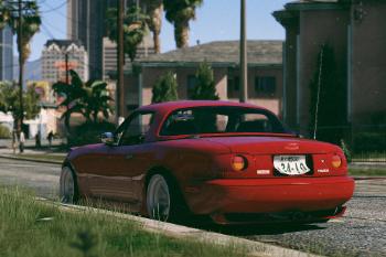 1989 Mazda MX-5 Miata [Replace | Extras | Add-On] - GTA5-Mods.com