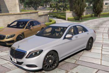 027021 mercedes s500 w222 by gta5korn