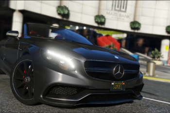 Mercedes Benz S63 Amg Cabriolet Add On Replace Gta5