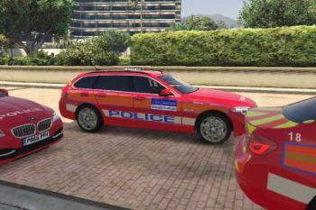 Met Police Arv Bmw 530d Touring Gta5 Mods Com