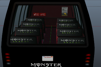 A9712a monster enegry bus 2