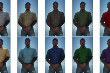 7081b9 chemise