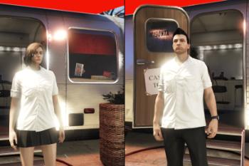 B4355c mp white shirt