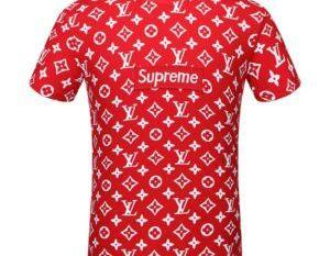 Bb5a17 supreme mens t shirt red 1