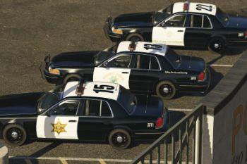 orange county sheriff chp black interior realism gta5. Black Bedroom Furniture Sets. Home Design Ideas
