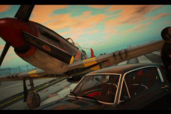 C07f95 sunsetandplane