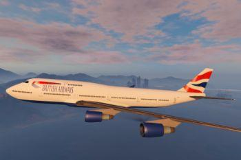 C158dc gta 5   british airways