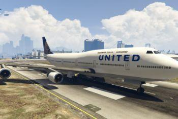 D66eb5 gta 5   united airlines