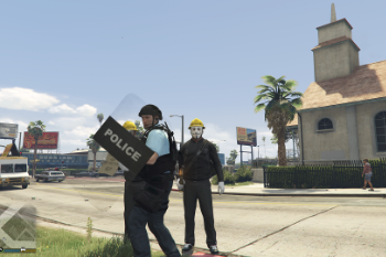 C40172 riot shield