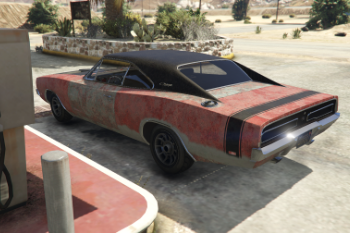 Rust Bucket Livery For Tk0wnz Charger Gta5 Mods Com