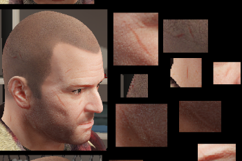 Scarred Prologue Michael GTAModscom - Bald hairstyle gta 5