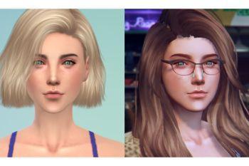 Sims 4 Custom Female Ped [Add-On Ped | Replace] - GTA5-Mods com
