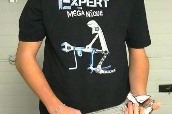 102dbd t shirt humoristique expert en meganique taille xl
