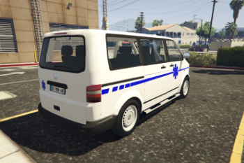 taxi ambulance volkswagen t5 gta5. Black Bedroom Furniture Sets. Home Design Ideas