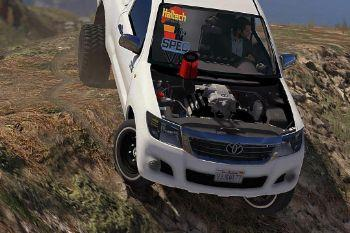 Toyota Hilux Vigo 2013-2015 (Off-Road Modified) [Add-On / Replace