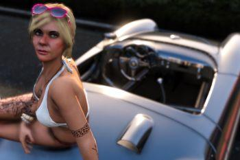 Tracey De Santa - Dragon Tattoo - - GTA5-Mods.com