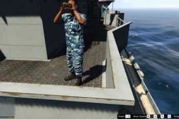 United States Navy Uniform Gta5 Mods Com